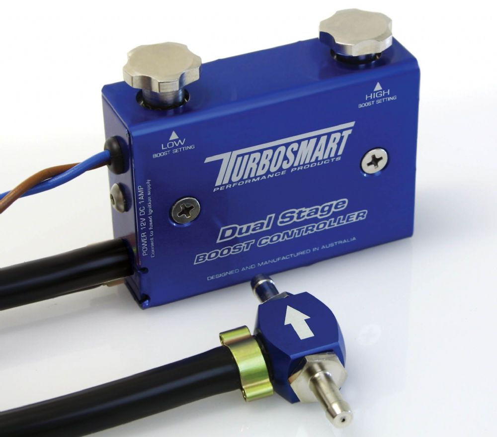 Turbosmart Dual Stage Boost Controller as used in our Own Race Car